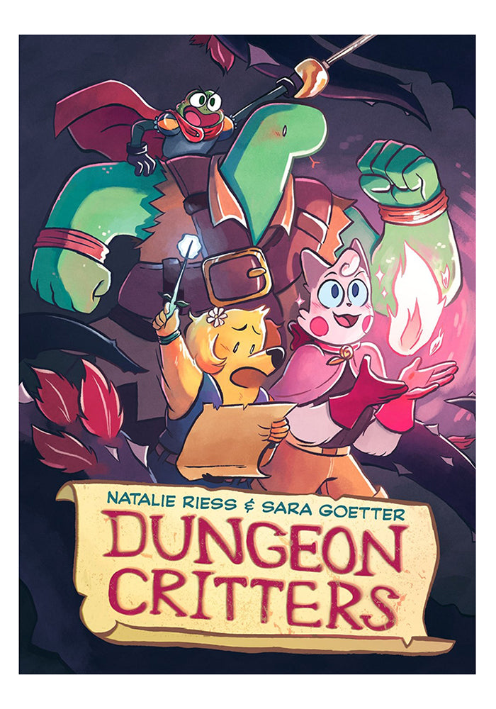 FIRST SECOND Dungeon Critters Graphic Novel