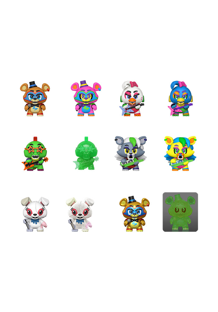 FIVE NIGHTS AT FREDDY'S Funko Mystery Minis: Five Nights At Freddy's Security Breach Blind Box
