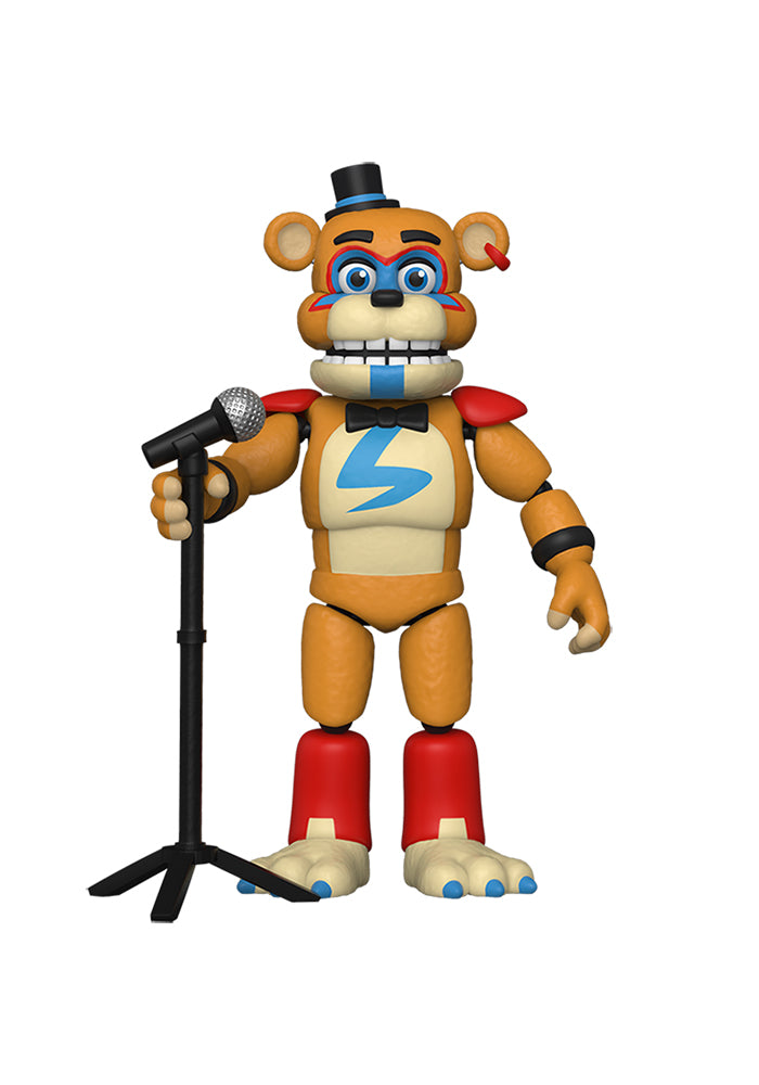 FIVE NIGHTS AT FREDDY'S Five Nights At Freddy's Security Breach 6-Inch Action Figure - Glamrock Freddy