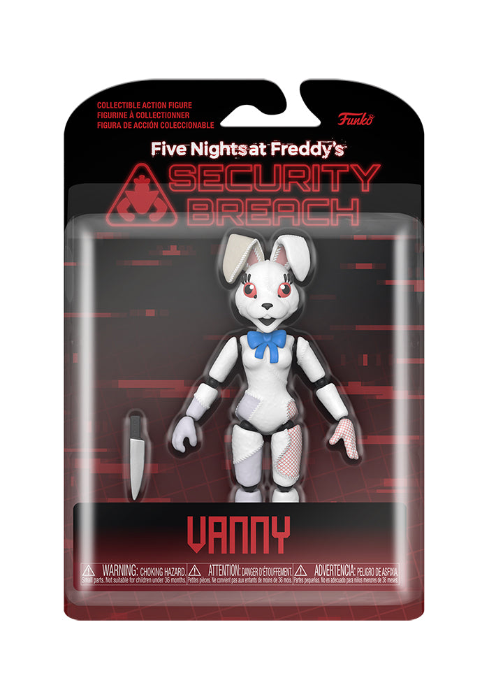 FIVE NIGHTS AT FREDDY'S Five Nights At Freddy's Security Breach 6-Inch Action Figure - Vanny