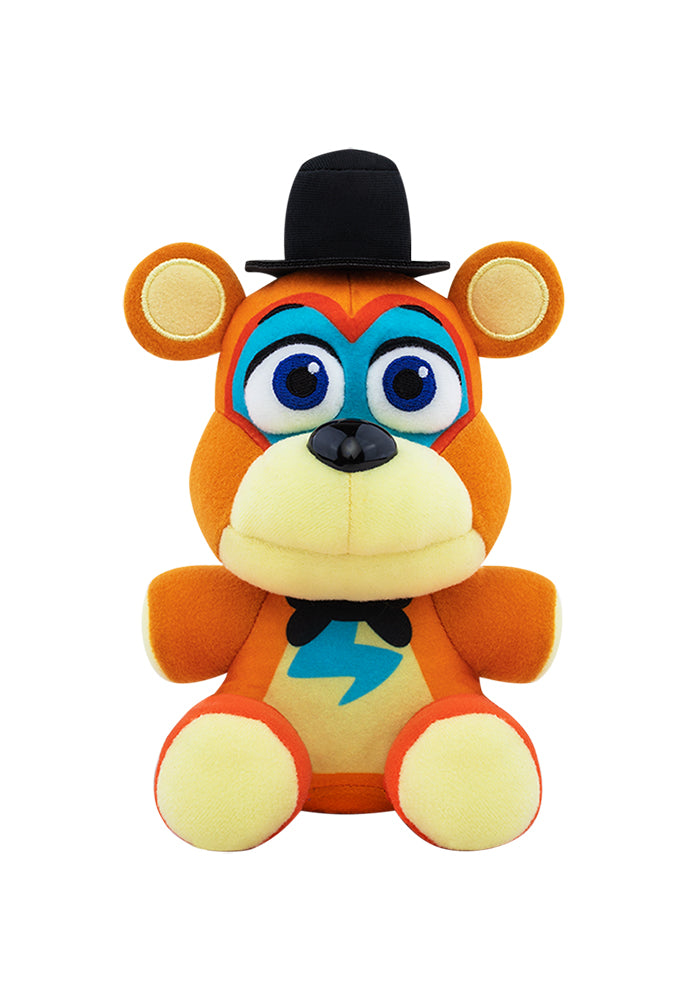 "FIVE NIGHTS AT FREDDY'S Five Nights At Freddy's Security Breach 6"" Plush - Glamrock Freddy"