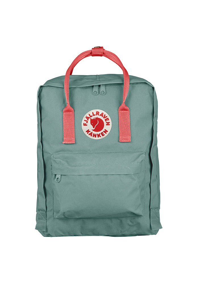 FJÄLLRÄVEN Kånken Backpack - Frost Green/Peach