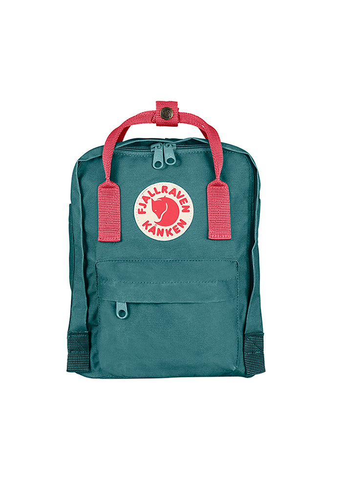 FJÄLLRÄVEN Kånken Mini Backpack - Frost Green/Peach