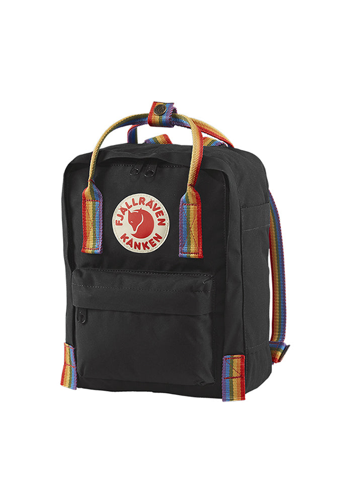 FJÄLLRÄVEN Kånken Rainbow Mini Backpack - Black