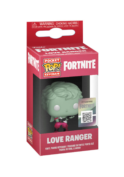 Funko Pop Keychain Fortnite-Love Ranger Vinyl Figure