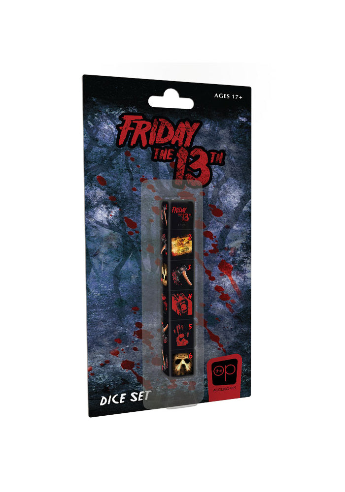FRIDAY THE 13TH Friday The 13th Dice Set