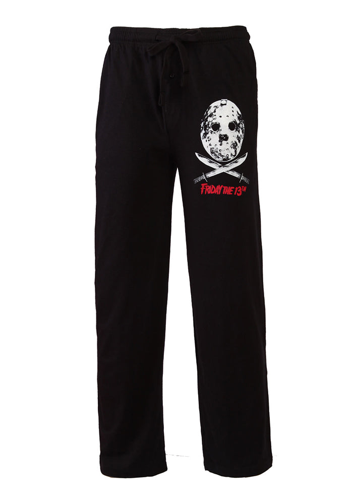 FRIDAY THE 13TH Jason Voorhees Mask Pajama Pants