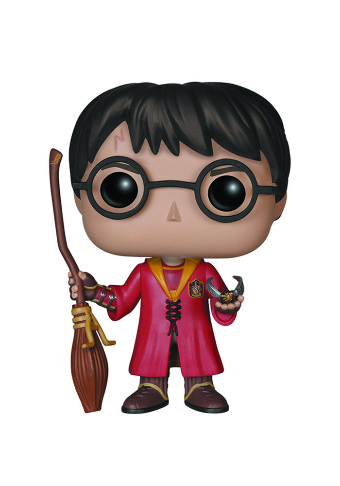 HARRY POTTER Funko Pop! Movies: Harry Potter - Quiddich Harry Figure