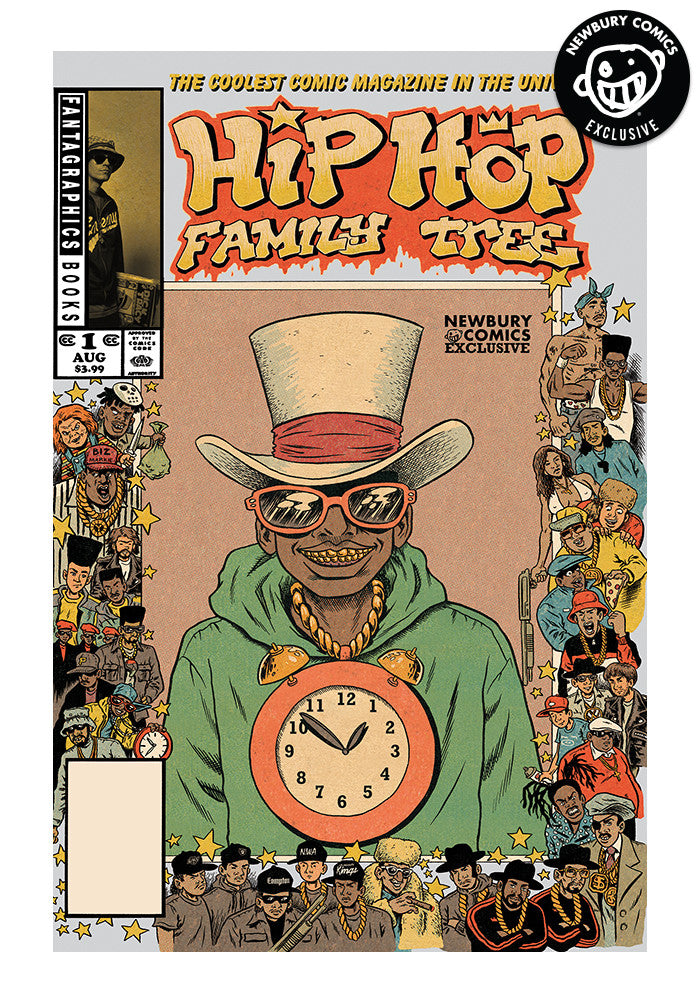FANTAGRAPHICS Hip Hop Family Tree #1 - Ed Piskor Exclusive Cover