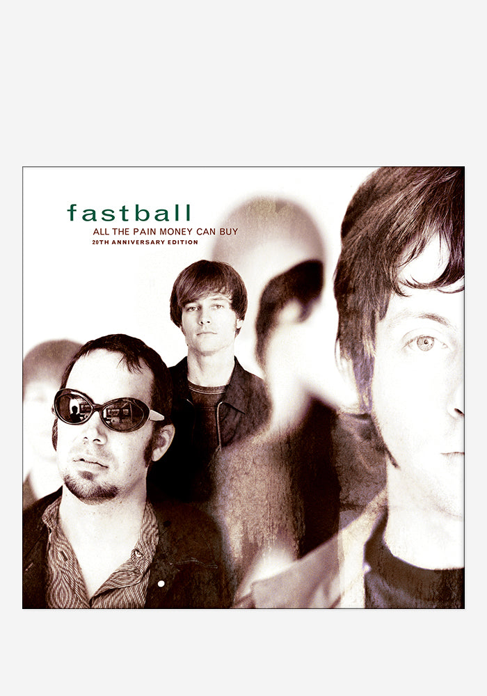 FASTBALL All The Pain Money Can Buy 20th Anniversary CD With Autographed Booklet