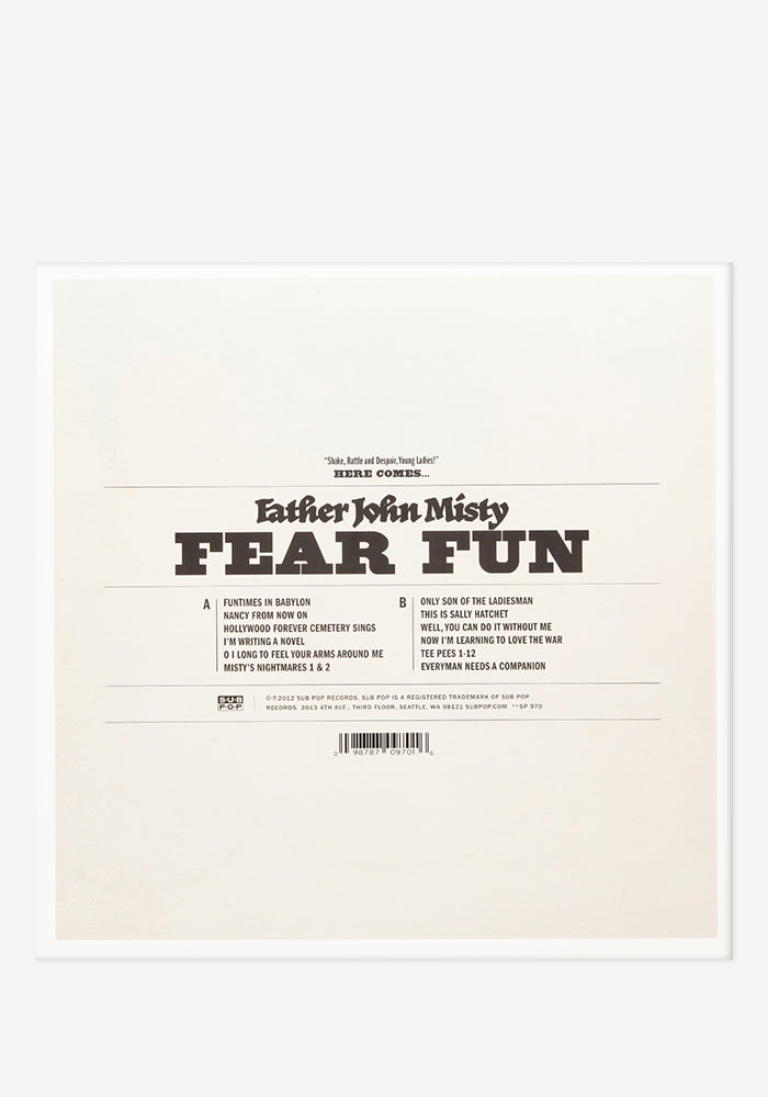 FATHER JOHN MISTY Fear Fun Exclusive LP