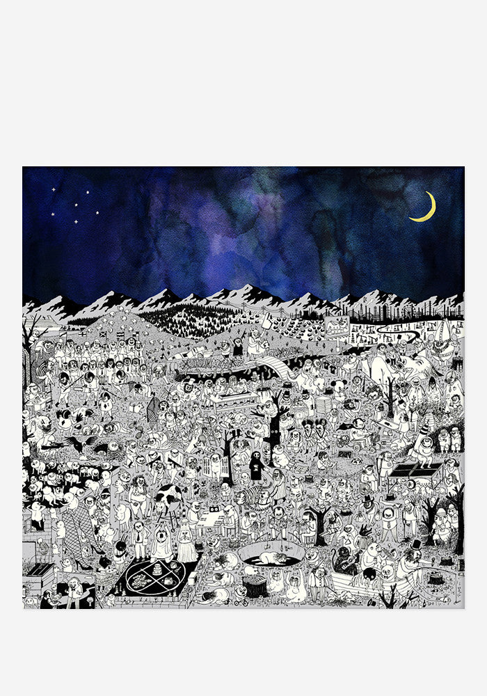 FATHER JOHN MISTY Pure Comedy Deluxe 2 LP (Color)