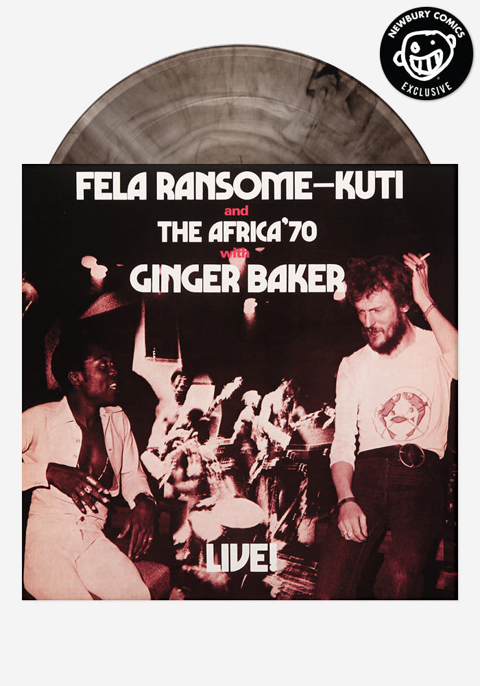 FELA KUTI Fela Ransome-Kuti And The Africa '70 With Ginger Baker Live! Exclusive LP