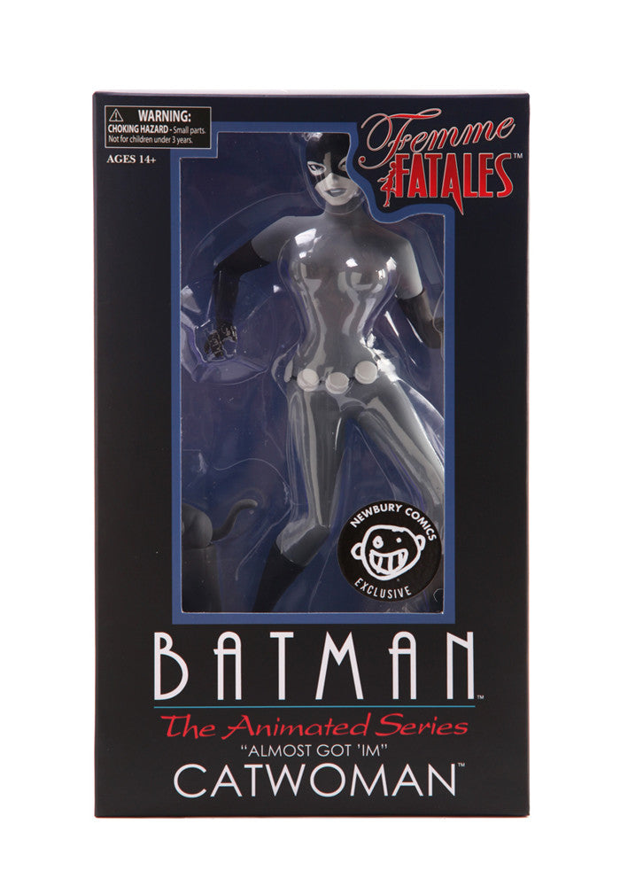 BATMAN Femme Fatale Catwoman Black & White Statue Exclusive
