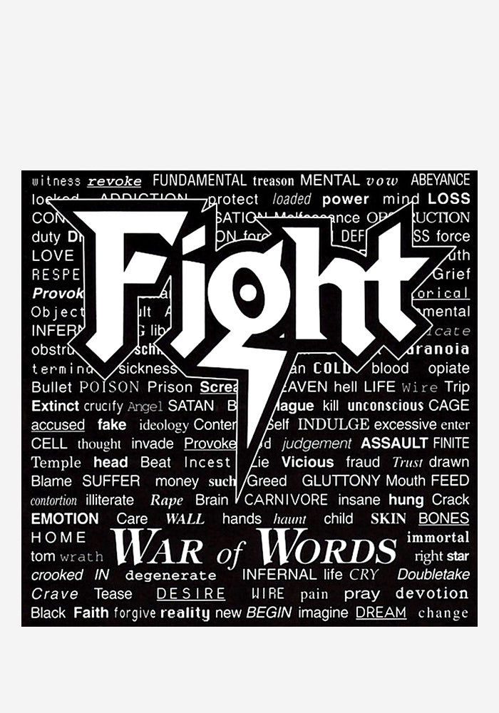 FIGHT War Of Words LP (Color)