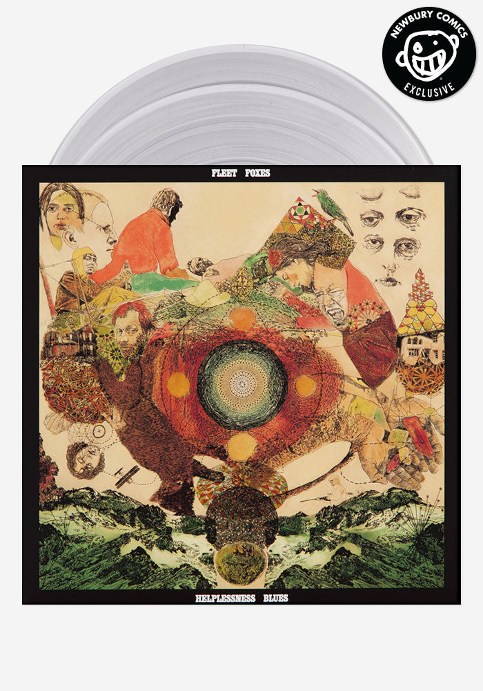 FLEET FOXES Helplessness Blues Exclusive 2 LP