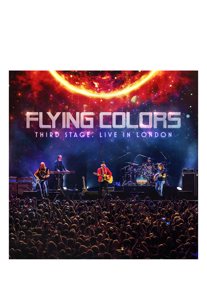 FLYING COLORS Third Stage: Live In London 2CD/DVD (Autographed)