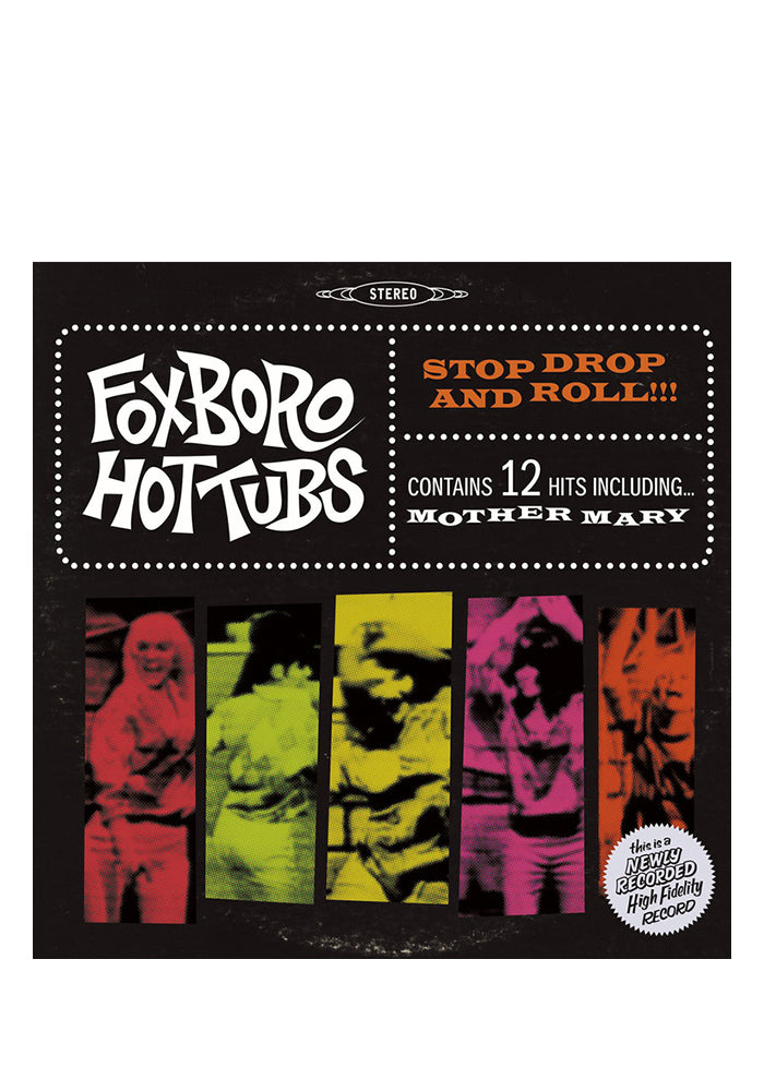 FOXBORO HUTTUBS Stop Drop And Roll!!! LP (Color)