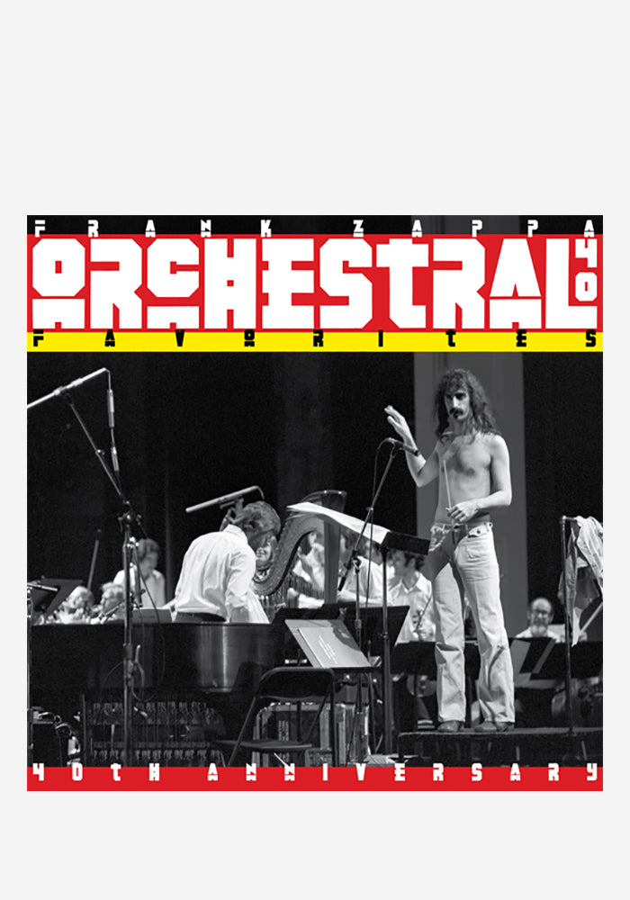 FRANK ZAPPA Orchestral Favorites: 40th Anniversary LP