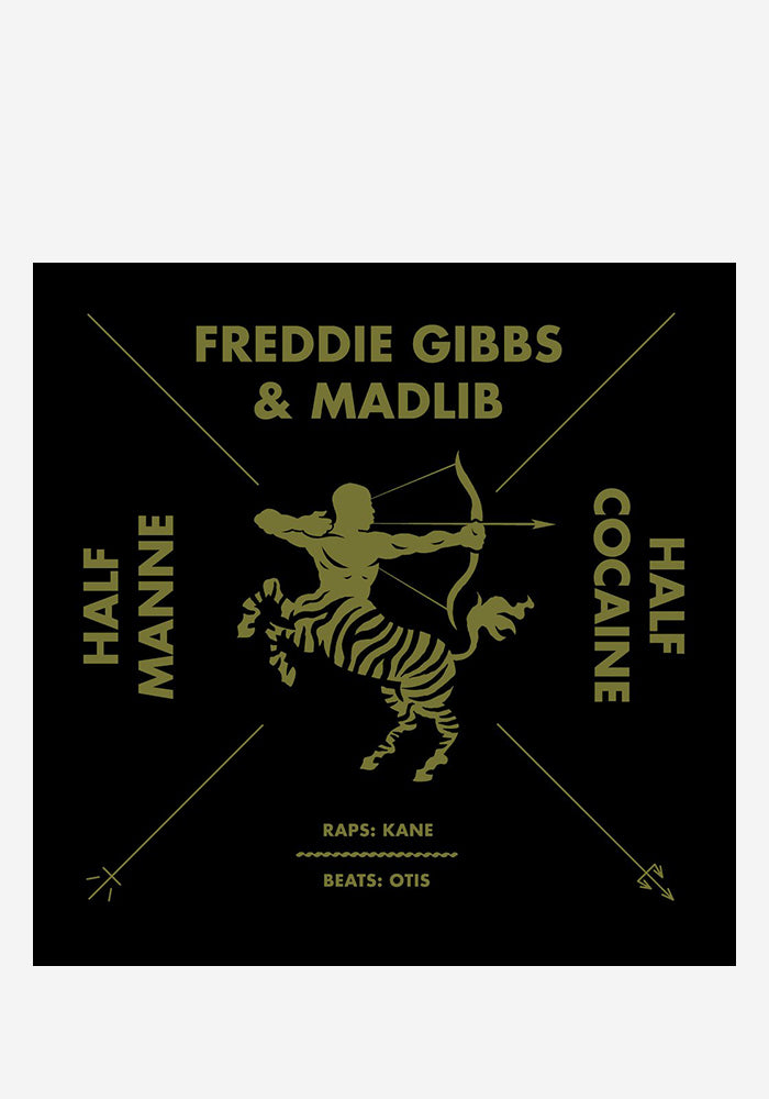 "FREDDIE GIBBS / MADLIB Half Manne Half Cocaine 12"" Single"