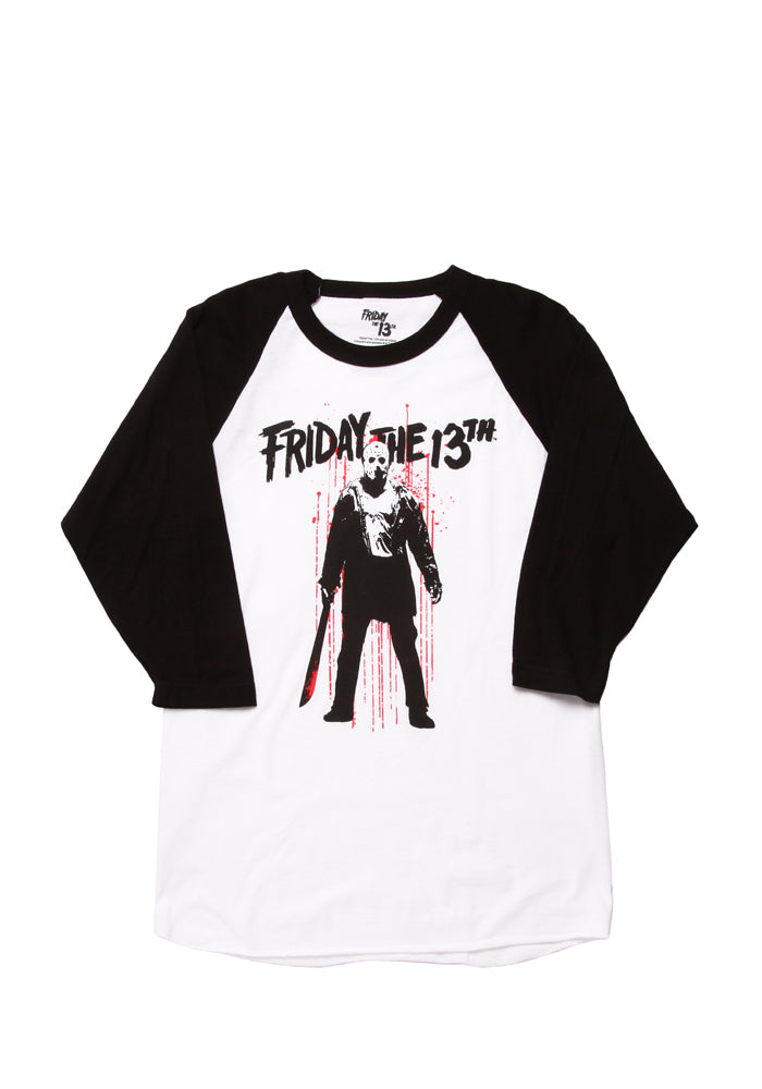 FRIDAY THE 13TH Bloody Jason Raglan T-Shirt