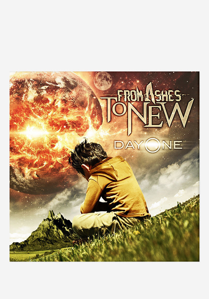 FROM ASHES TO NEW Day One With Autographed CD Booklet