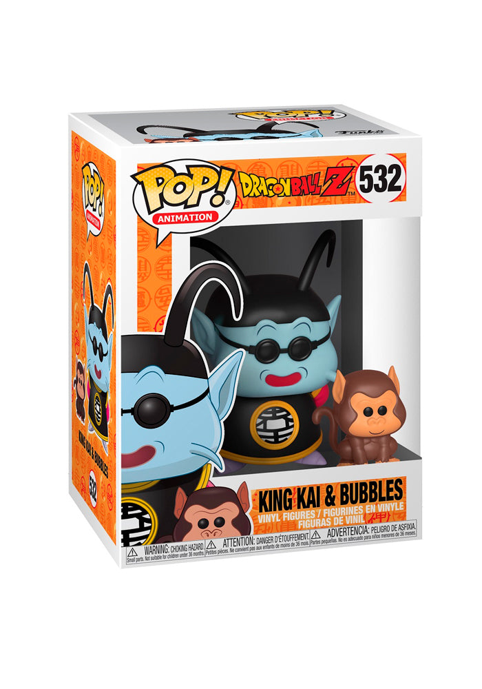 DRAGON BALL Z Funko Pop! Anime: Dragon Ball Z - King Kai & Bubbles