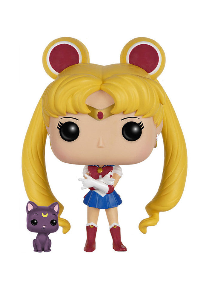 SAILOR MOON Funko Pop! Anime: Sailor Moon - Sailor Moon With Luna