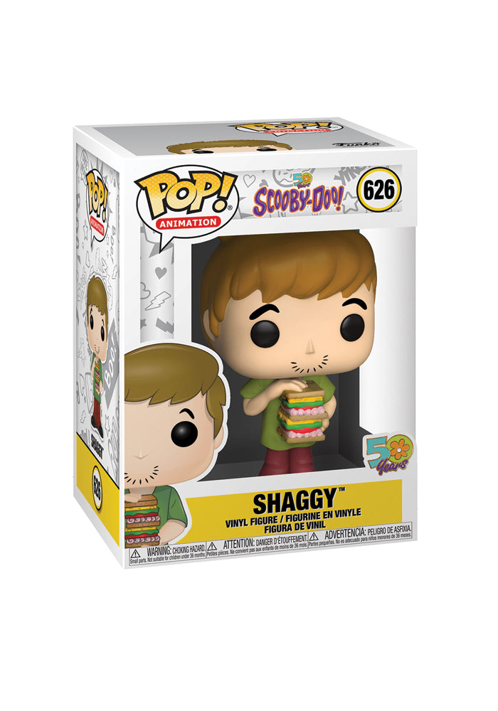 SCOOBY DOO Funko Pop! Animation: Scooby Doo - Shaggy With Sandwich