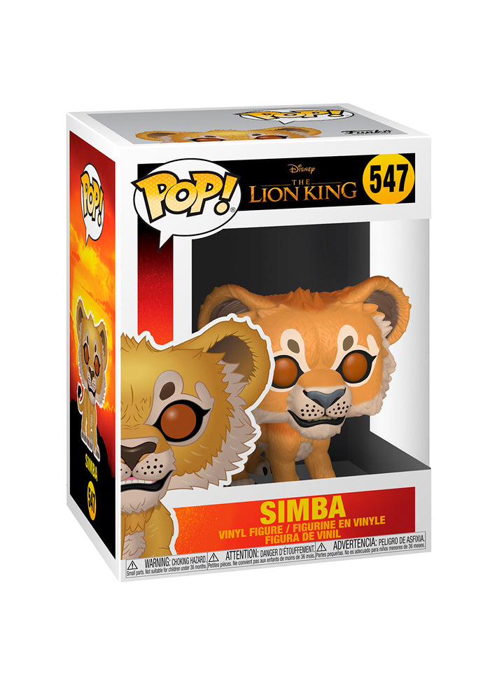 LION KING Funko Pop! Disney: Simba (2019)