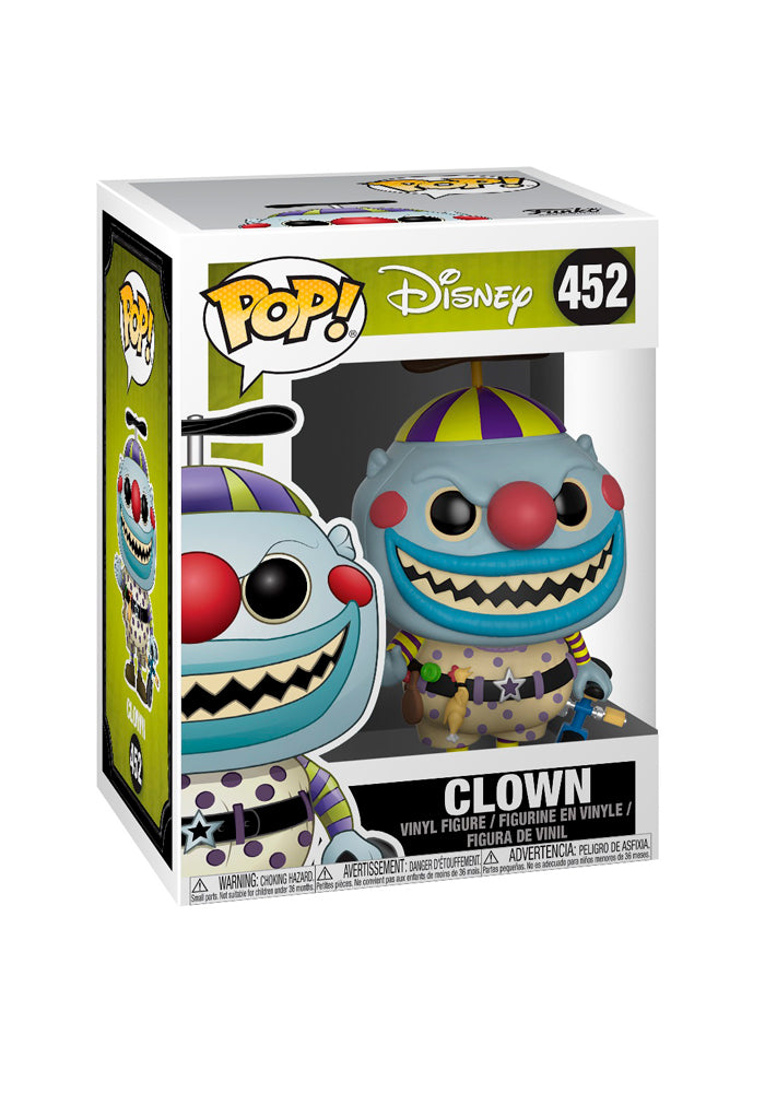 NIGHTMARE BEFORE CHRISTMAS Funko Pop! Disney: Nightmare Before Christmas - Clown