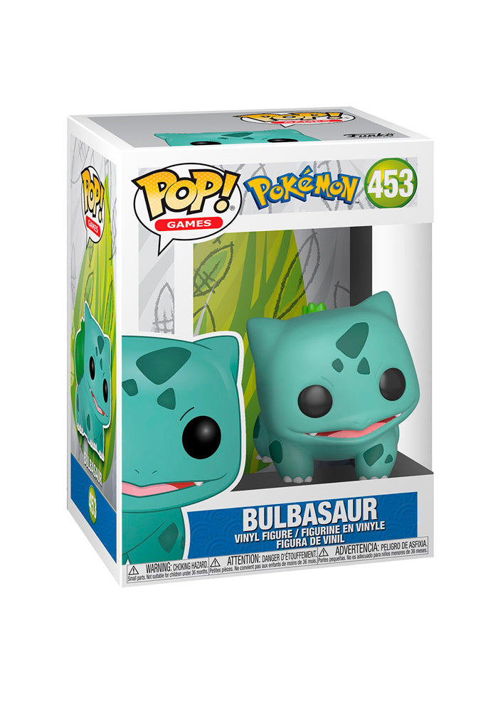 POKEMON Funko Pop! Games: Pokemon - Bulbasaur