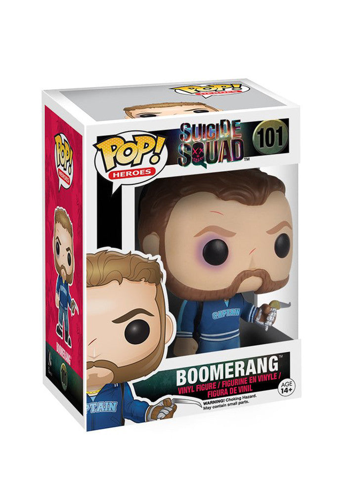 SUICIDE SQUAD Funko Pop! Heroes: Suicide Squad - Boomerang