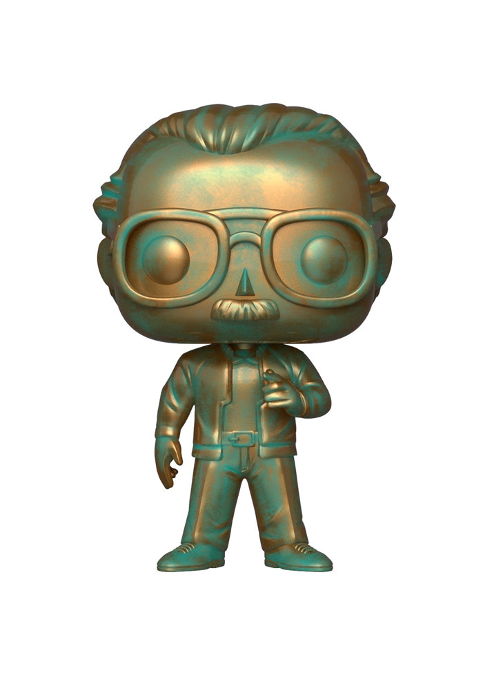 STAN LEE Funko Pop! Icons: Stan Lee (Patina)