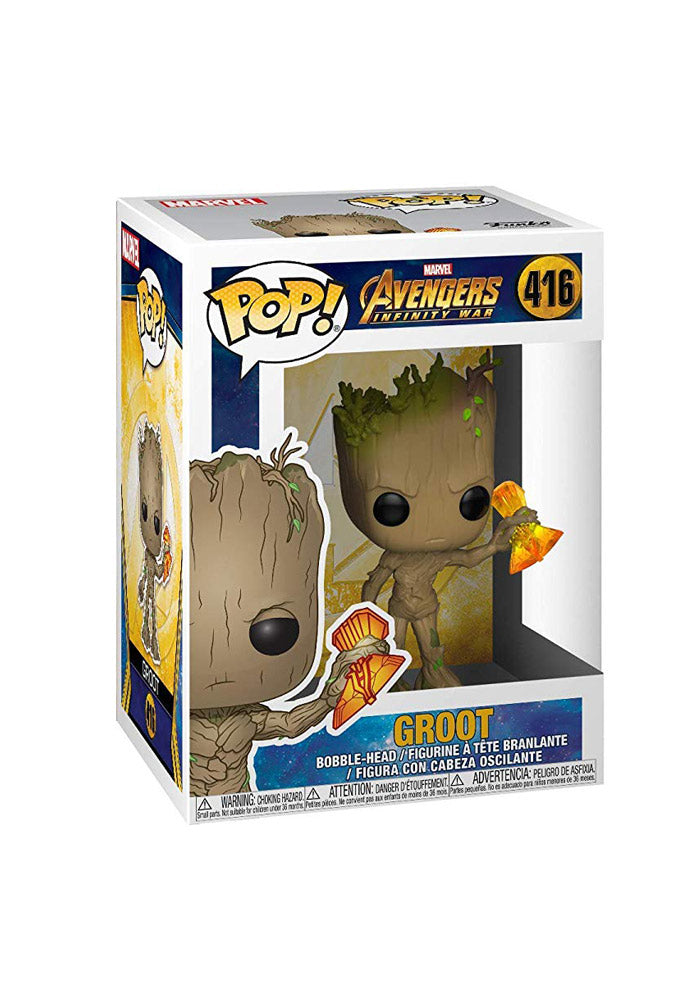 AVENGERS Funko Pop! Marvel: Avengers Infinity War - Groot With Stormbreaker