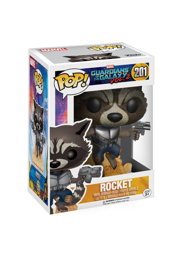 GUARDIANS OF THE GALAXY Funko Pop! Marvel: Guardians Of The Galaxy 2 - Rocket