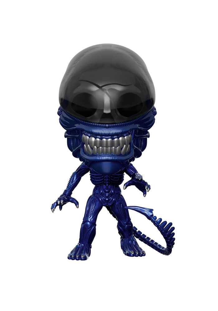 ALIENS Funko Pop! Movies: Aliens - Xenomorph Blue Metallic