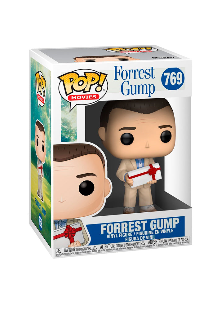 FORREST GUMP Funko Pop! Movies: Forrest Gump - Gump With Chocolate