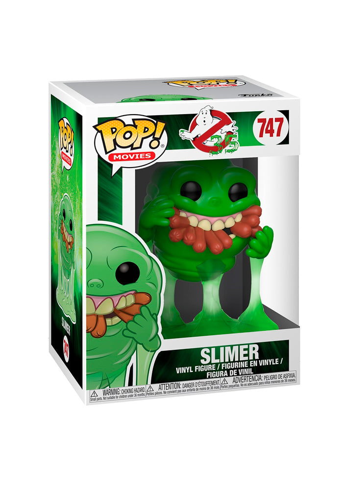 GHOSTBUSTERS Funko Pop! Movies: Ghostbusters - Slimer With Hot Dogs