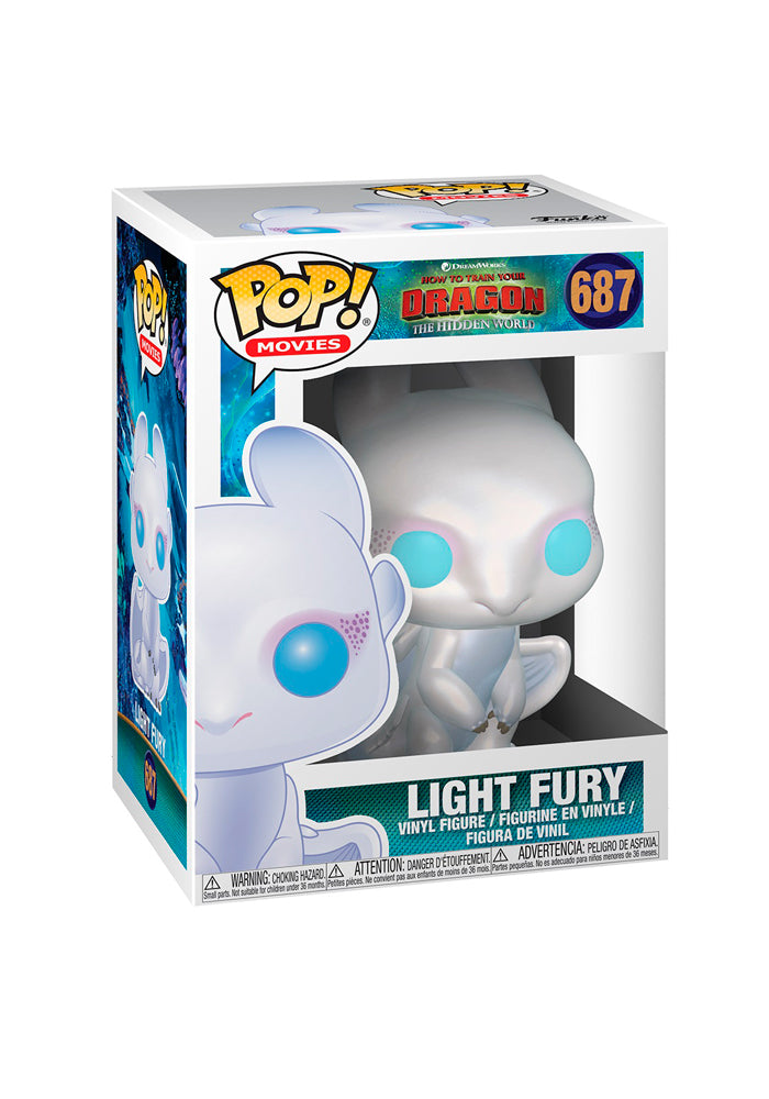 HOW TO TRAIN YOUR DRAGON Funko Pop! Movies: How To Train Your Dragon 3 - Light Fury
