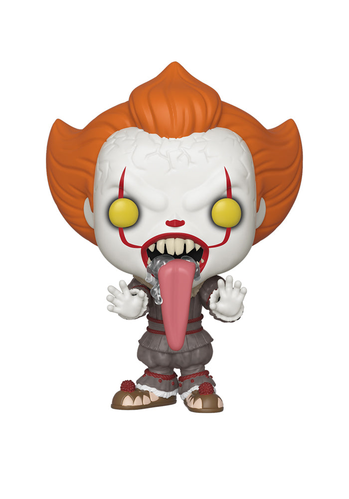 IT Funko Pop! Movies: It - Funhouse Pennywise With Dog Tongue