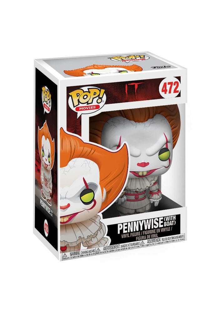 IT Funko Pop! Movies: It - Pennywise 2017