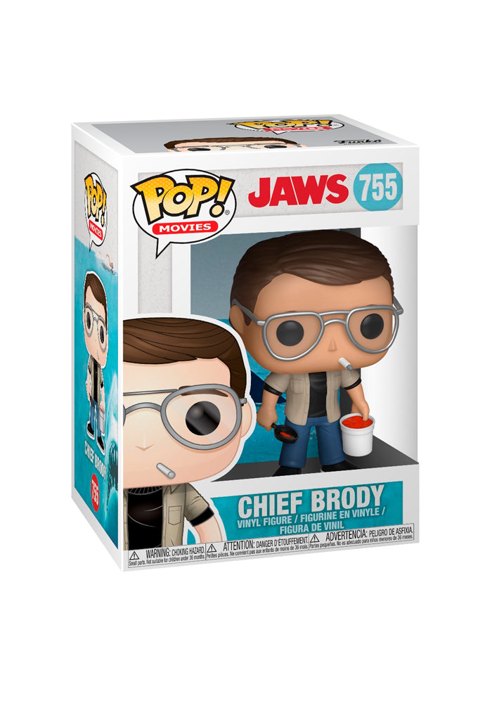 JAWS Funko Pop! Movies: Jaws - Chief Brody