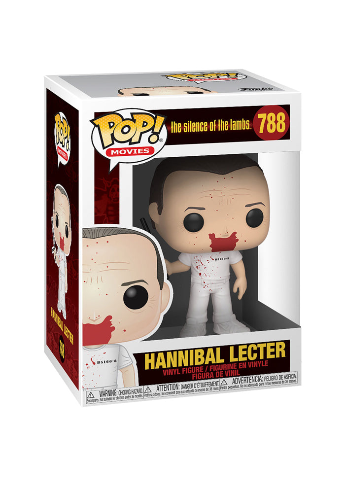 SILENCE OF THE LAMBS Funko Pop! Movies: Silence Of The Lambs - Bloody Hannibal