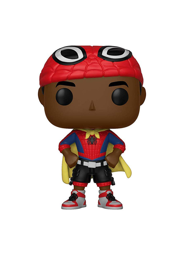 SPIDER-MAN Funko Pop! Movies: Spider-Man Into The Spider-Verse - Miles Morales (Caped)