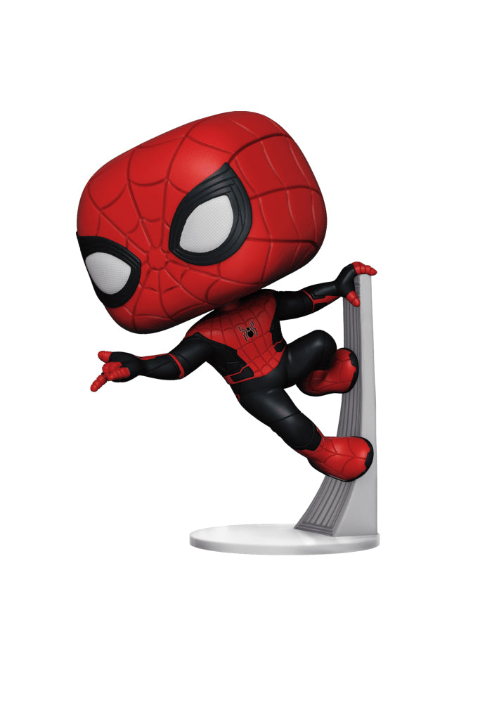 SPIDER-MAN Funko Pop! Movies: Spider-Man Far From Home - Spider-Man (Upgraded)