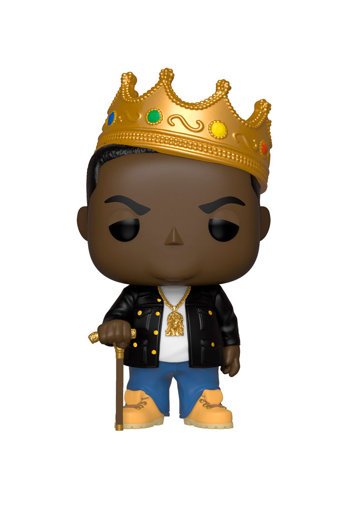 NOTORIOUS BIG Funko Pop! Rocks: Notorious B.I.G. With Crown
