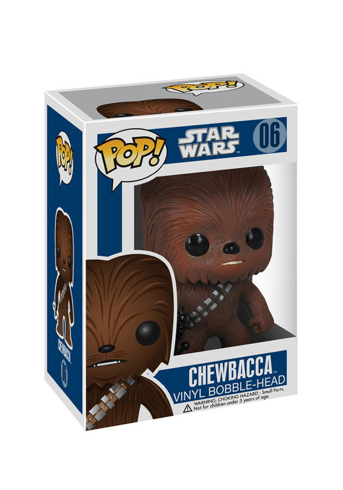 STAR WARS Funko Pop! Movies: Star Wars - Chewbacca Bobblehead