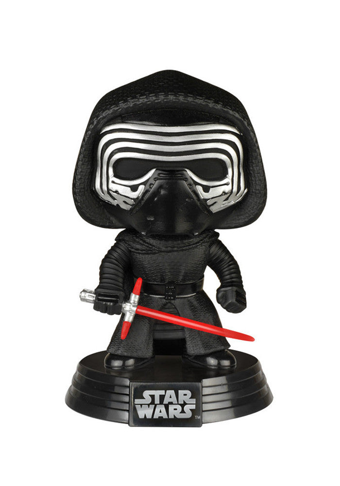 STAR WARS Funko Pop! Movies: Star Wars - Kylo Ren Bobblehead