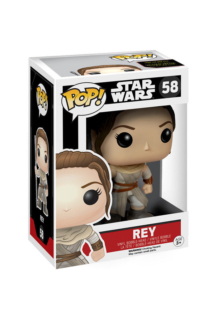 STAR WARS Funko Pop! Movies: Star Wars - Rey Bobblehead